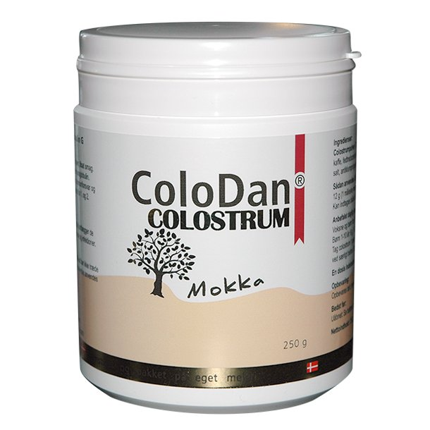 ColoDan colostrum<br />Mokka<br />250 g