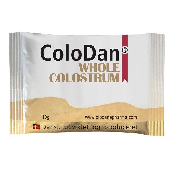 ColoDan<sup>®</sup> Whole Colostrum<br />Vareprøve 10 g