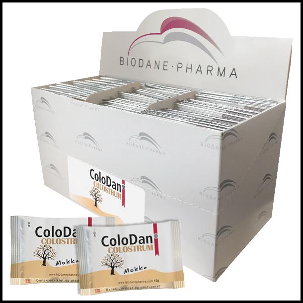 ColoDan<sup>®</sup> Colostrum Mokka<br /> Dosisbreve 30x12g