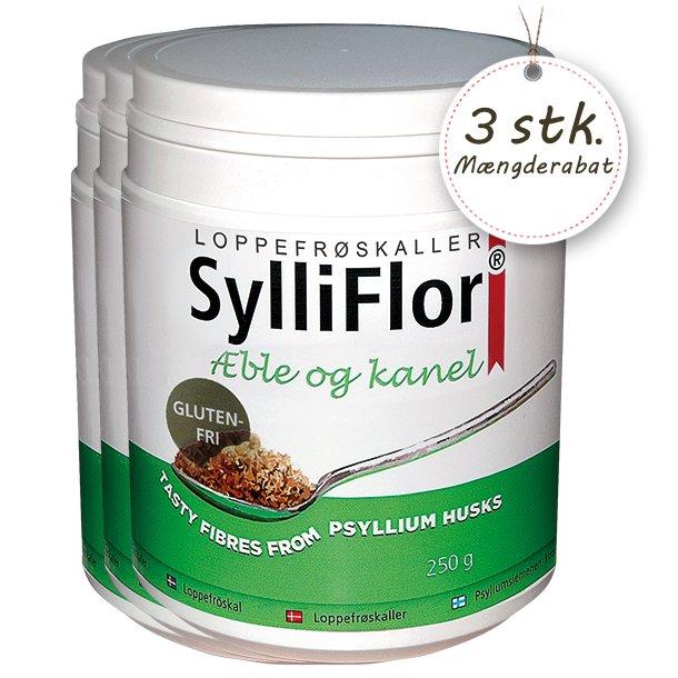 SylliFlor<sup>®</sup> Æble og kanel 3 x 250 g