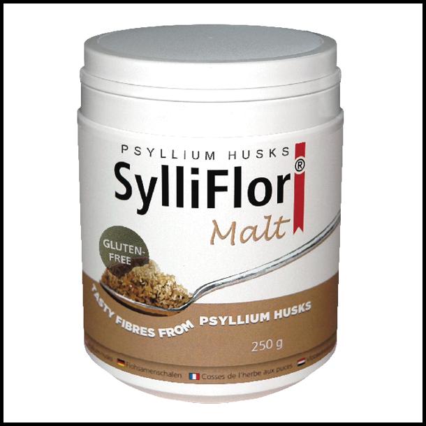 SylliFlor<sup>®</sup> Psyllium Husks<br />Malt<br />Single pack 250 g