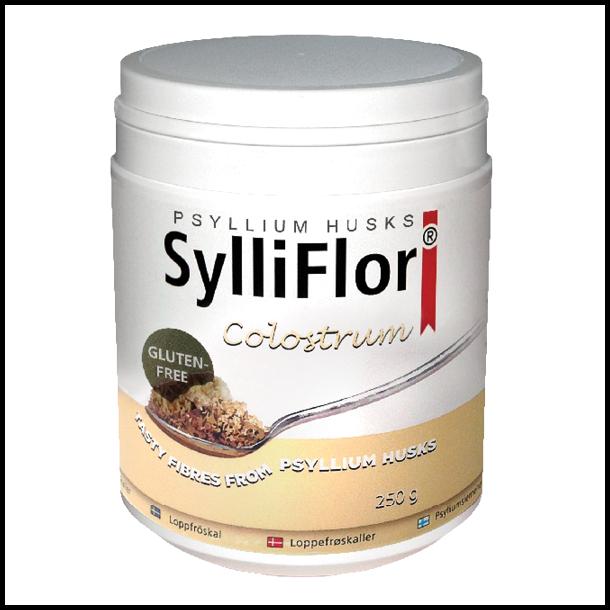 SylliFlor<sup>®</sup> Psyllium Husks<br />Colostrum <br />Single Pack 250 g