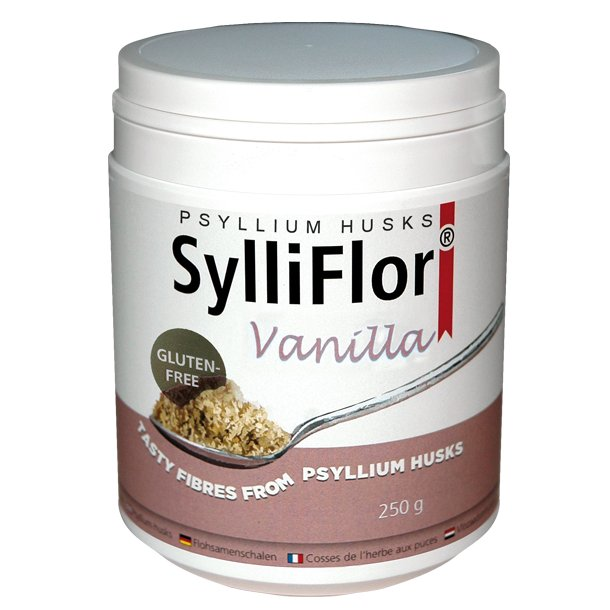SylliFlor<sup>®</sup> Psyllium Husks<br />Vanilla<br />Single pack 250 g