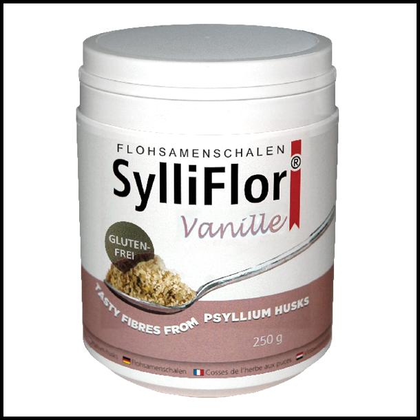 SylliFlor<sup>®</sup> Flohsamenschalen<br />Vanille<br />250 g