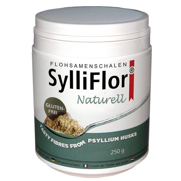 SylliFlor<sup>®</sup> Flohsamenschalen<br />Naturell<br />250 g