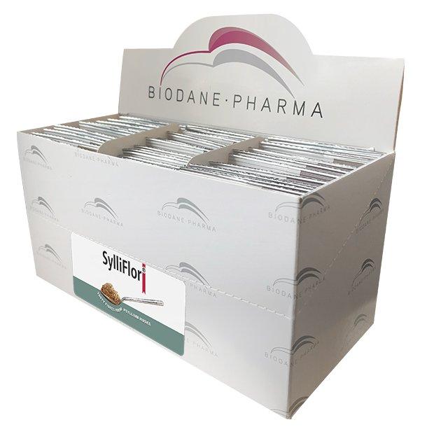 SylliFlor<sup>®</sup> Flohsamenschalen<br />Naturell<br />Dosisbreife 30 x 6 g
